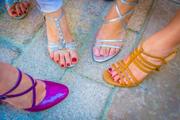 pieds talons invitées mariage NC Photographies photographe mariage Provence